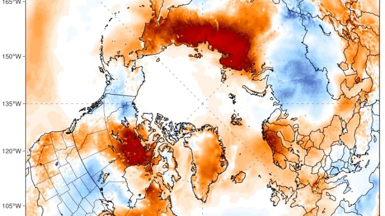 June 2020: Arctic records its hottest temperature ever