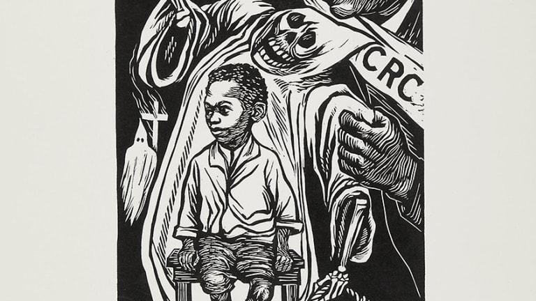 Civil Rights Congress 1949 - Artist Elizabeth Catlett
