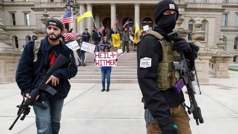 The Anti-Quarantine Protesters = Bootlickers
