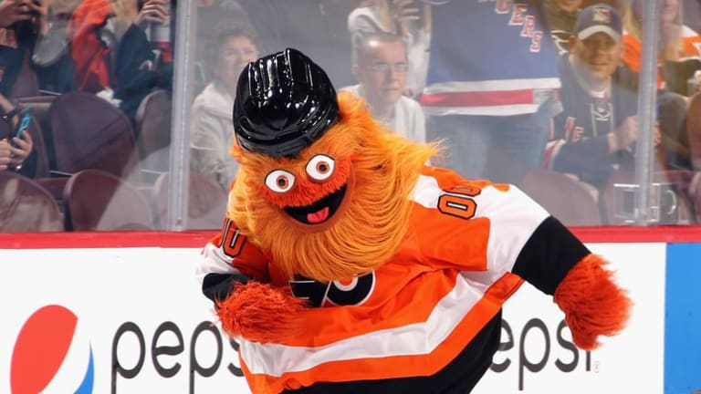 How Philadelphia Flyers Hockey Mascot, Gritty, Became a Leftist Icon