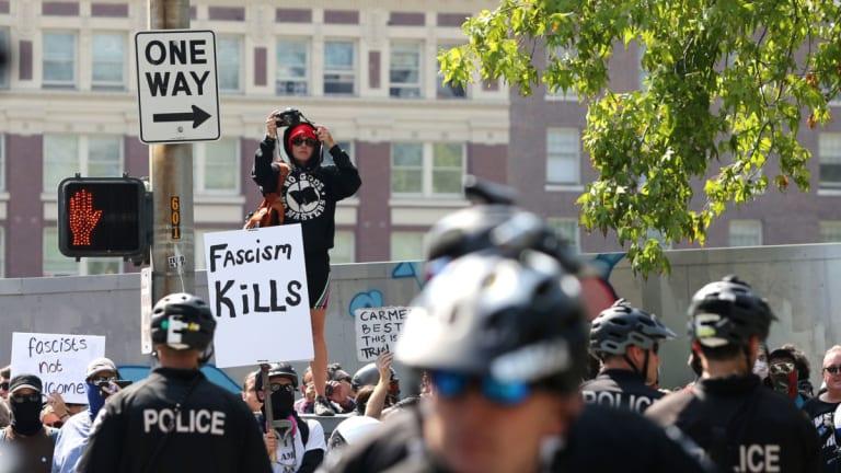 Far-Right Group Patriot Prayer Is Declining. Thank Anti-Fascists.