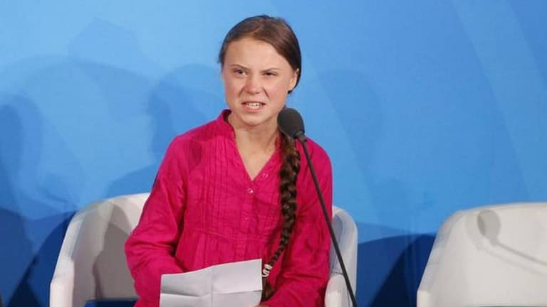"""Greta Thunberg Voices Our Rage: """"You have stolen my dreams"""""""