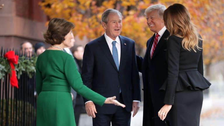 "Stop This: Celebrating War Criminal George W. Bush to ""Own"" Donald Trump"
