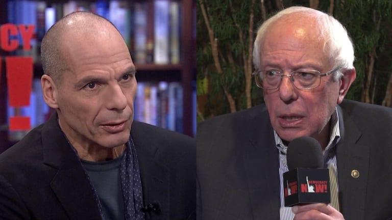 Yanis Varoufakis & Bernie Sanders Launch New Global Mvt Against Far Right