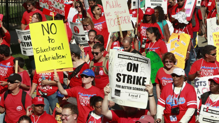 What's at Stake in Chicago's Two Public Education Strikes