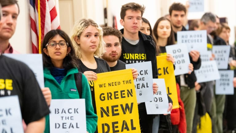 Earth Scientists Support Youth On The Green New Deal