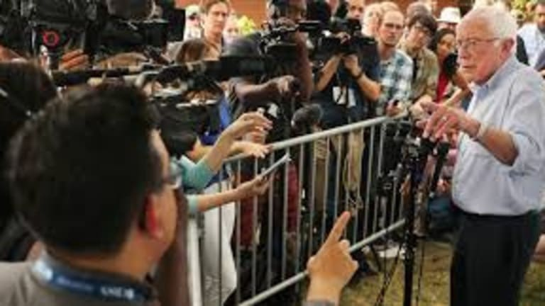 Norman Solomon: Bernie Sanders is Absolutely Correct about Corporate Media Bias