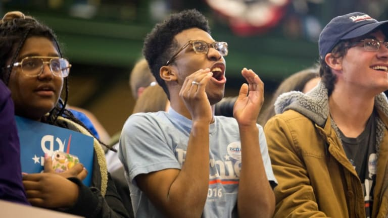 Young People Will Make History With Bernie Sanders - If They Show Up