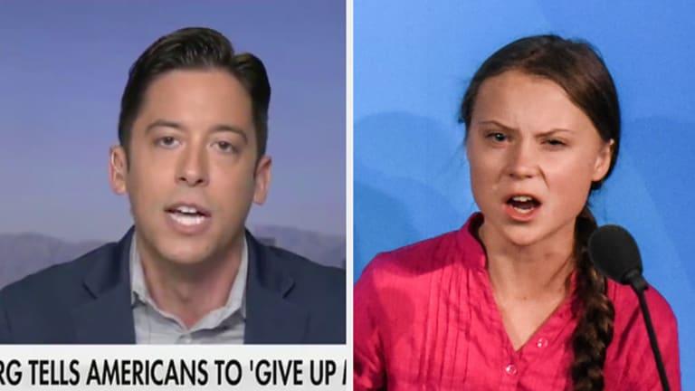 Fox News Guest Calls 16 yr' Old Climate Activist Greta Thunberg 'Mentally Ill'