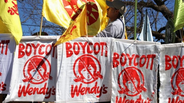 Wendy's Owner Gives Big to Trump While Refusing Farmworkers' Demands
