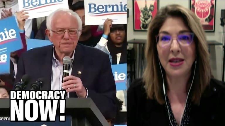 """Naomi Klein: Sanders """"Broke the Spell"""" of Neoliberalism"""