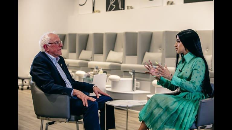 Bernie Sanders Interviewed by Cardi B - Full
