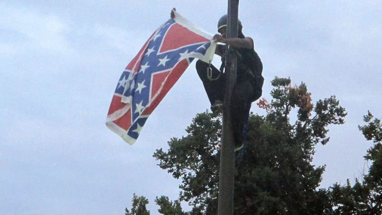 5 Years Ago Today Bree Newsome Climbed a Pole and Removed a Confederate Flap