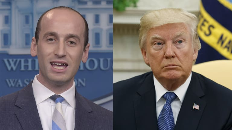 Stephen Miller Typifies The White Supremacist Republican Party