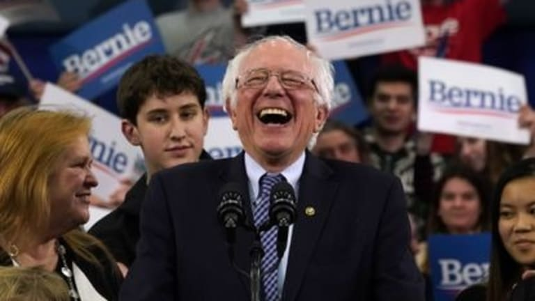 The Democrats' 'Stop Bernie' Campaign Has Gone From Ridiculous To Deranged