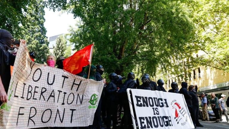 Massive Anti-Fascist Coalition Rebuffs Far-Right White Nationalist Proud Boys