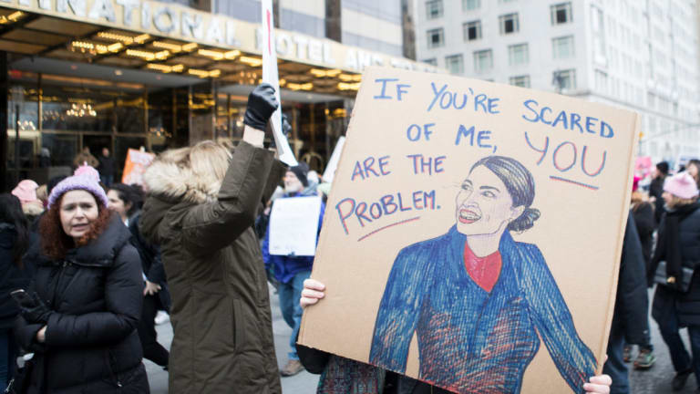 Dems Threaten Primary Challenge of Ocasio-Cortez, Her Supporters Raise $100K