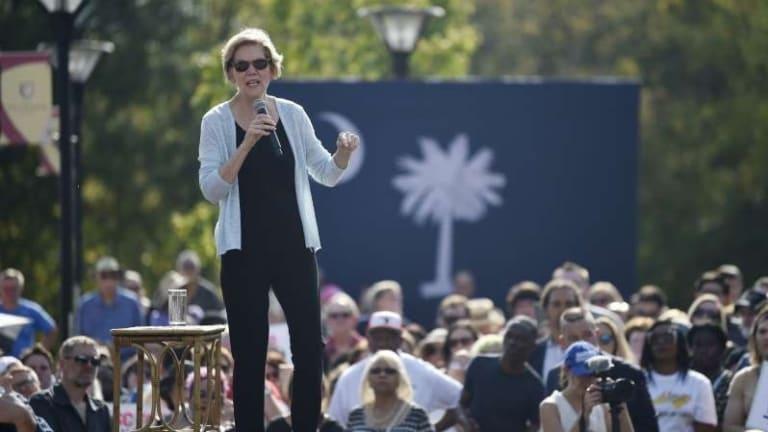 Elizabeth Warren struggles to turn out black Democrats in South Carolina