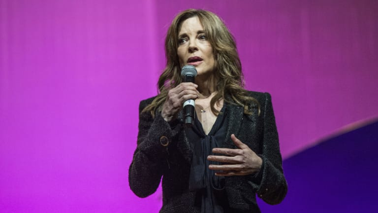 Marianne Williamson Reaches Donor Threshold for Entry to Dem Debates