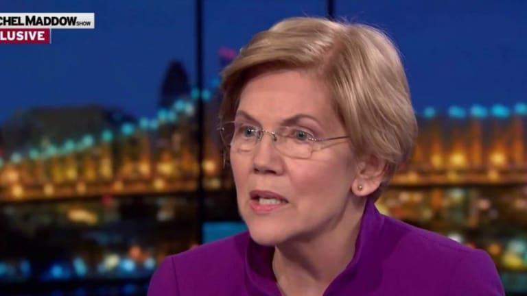 Elizabeth Warren Pledges To Run a People Powered Campaign, Shun Corporate Cash