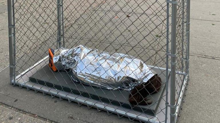 Art installations blast audio of sobbing, detained children across New York City