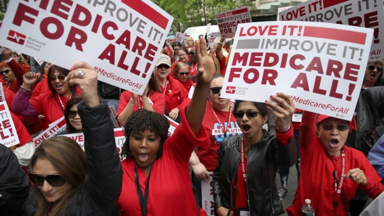 The Centrist Democrat Lie That Medicare For All 'Curtails Freedom'