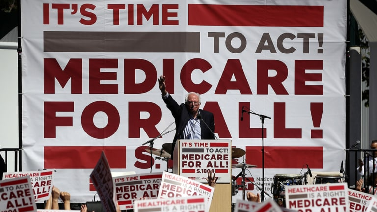 Private Health Insurance Stocks Tumbling as Medicare for All Gains Momentum