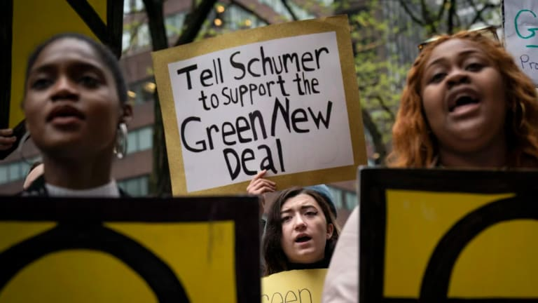 The Green New Deal Can Help Us Fight White Supremacy