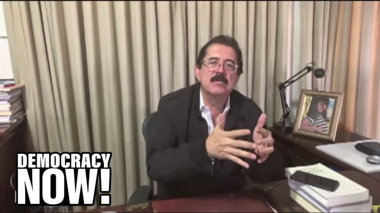 Democracy Now! Video: How The U.S. Caused the Honduran Refugee Crisis