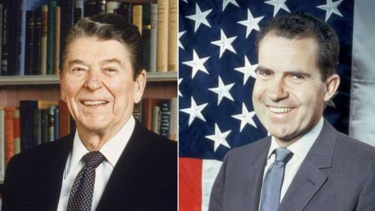 Ronald Reagan's Long-Hidden Racist Conversation With Richard Nixon