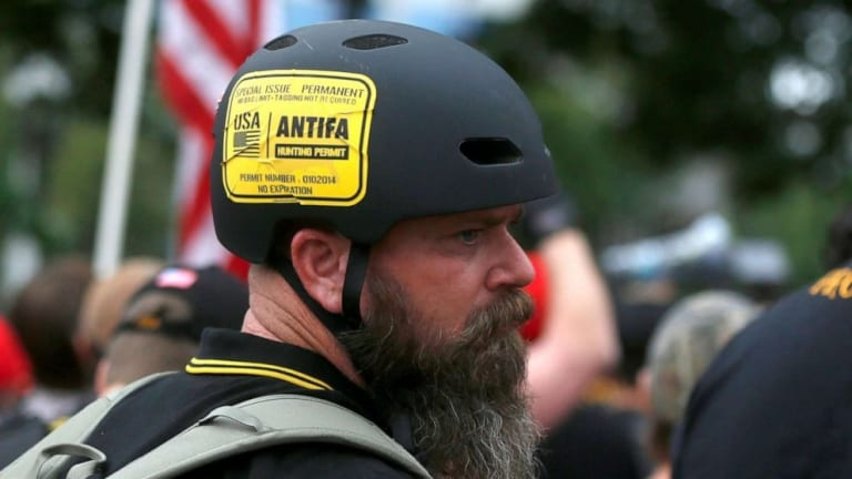 Facebook takes down Proud Boys, American Guard accounts connected to protests