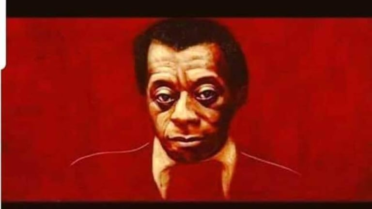 James Baldwin Image Inlaid With Son of Baldwin Quote
