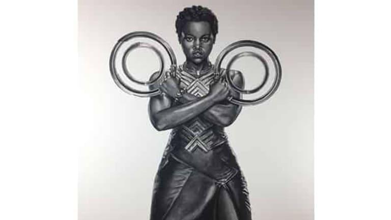 Wakanda Warrior Nakia by Lawrence Reynolds