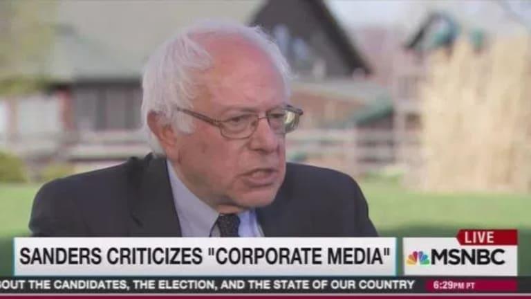 From 2016: Bernie Sanders Blasts Corporate Media - Still True in 2019