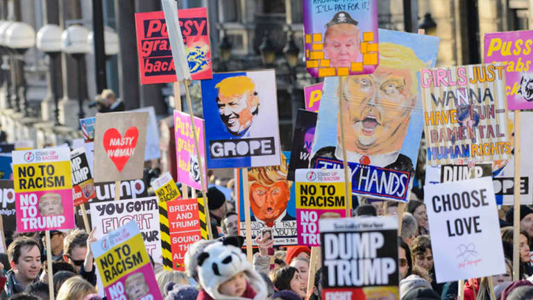 """Art Supply Sales Are Up, Thanks To Anti-Trump Protests"""
