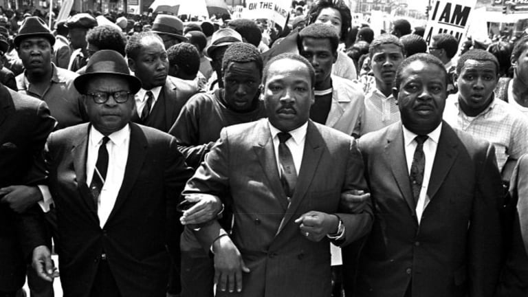 Let's not forget — Martin Luther King Jr. was preaching economic justice, too