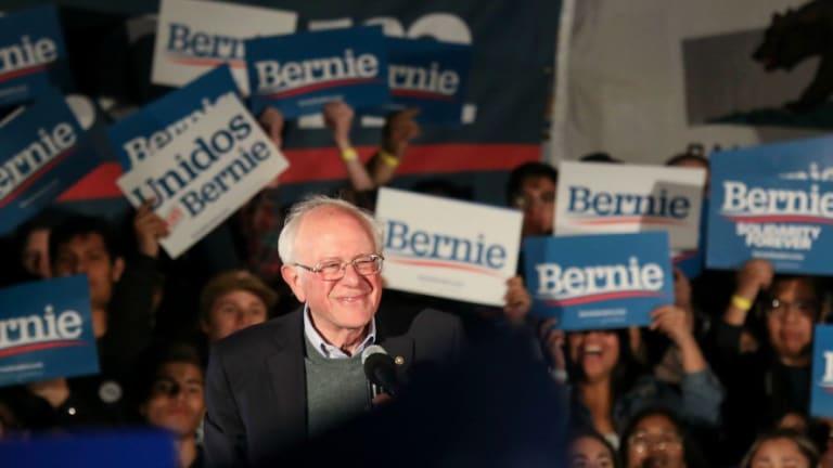 Establishment Democrats Can't Stop Bernie Sanders' Surge