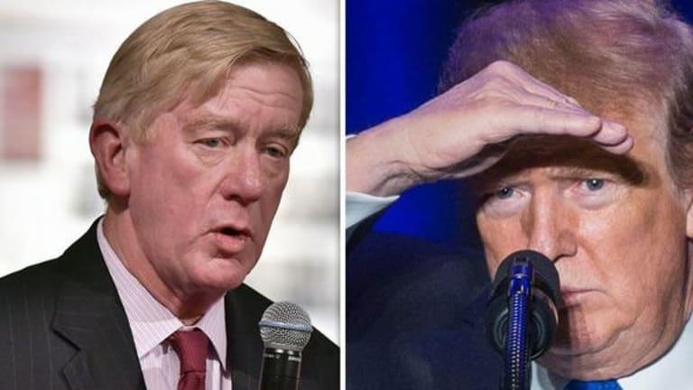 Trump Has a 2020 GOP Primary Challenger, Bill Weld, Former Massachusetts Gov.