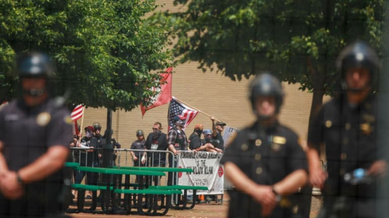 Dayton is Stuck With $650,000 bill for KKK rally of 9 People