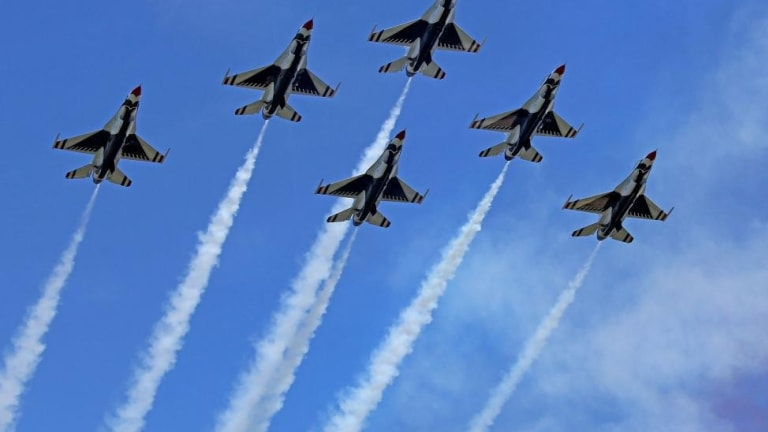 America's Reflexive Gaudy Display of Military Might In Response To a Pandemic