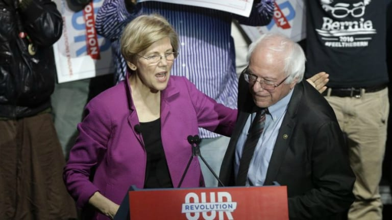 Wall Street Voices it's Preference For Dem Primary: Anyone But Sanders or Warren
