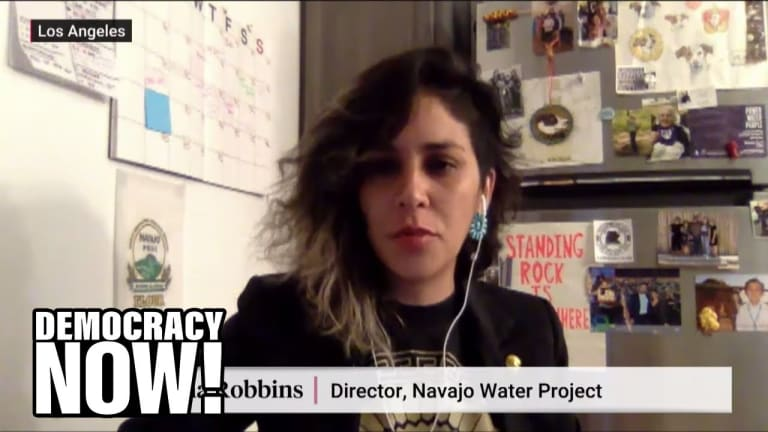 How Navajo Nation's water and health crisis is amplified by COVID-19