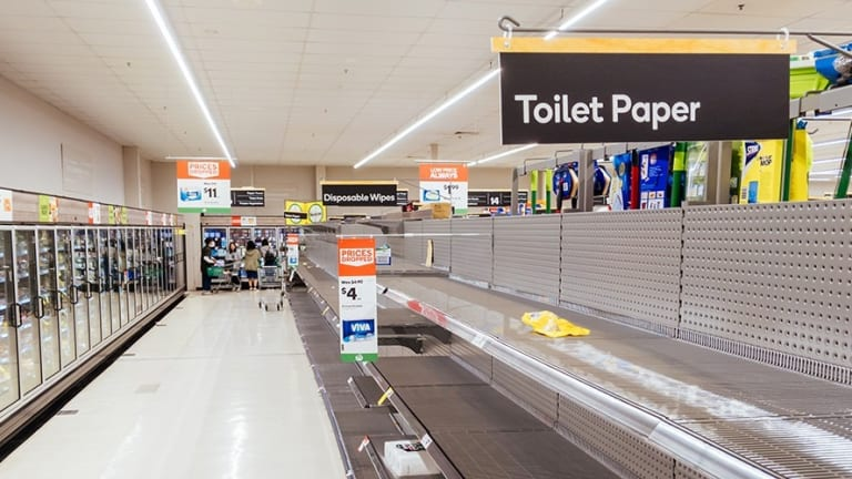 Toilet Paper Wars and the Shithouse of Capitalism