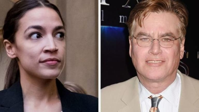 """Aaron Sorkin: New Dems """"Should Stop Acting Like Young People"""", @AOC Responds"""