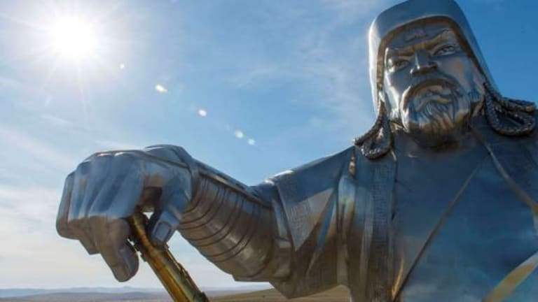 GENGHIS KHAN — THE FATHER OF GLOBALIZATION?