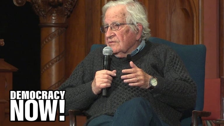 Noam Chomsky: The Green New Deal Is Exactly the Right Idea