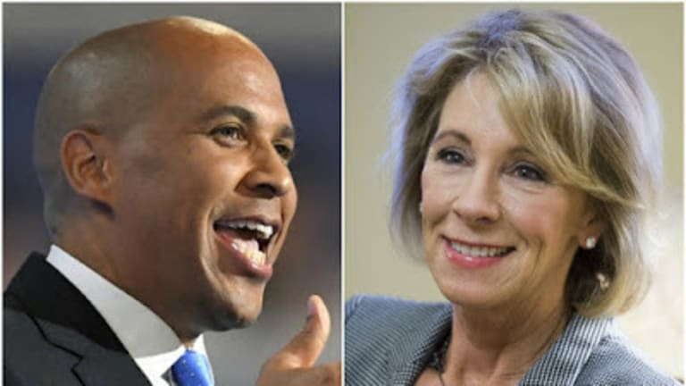 NYC Educator: Cory Booker Is Betsy DeVos With a Tie
