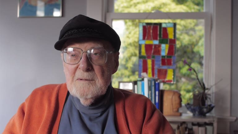 """Film: 97-Year-Old Philosopher Asks About Life, """"What Is the Point of It All?"""""""