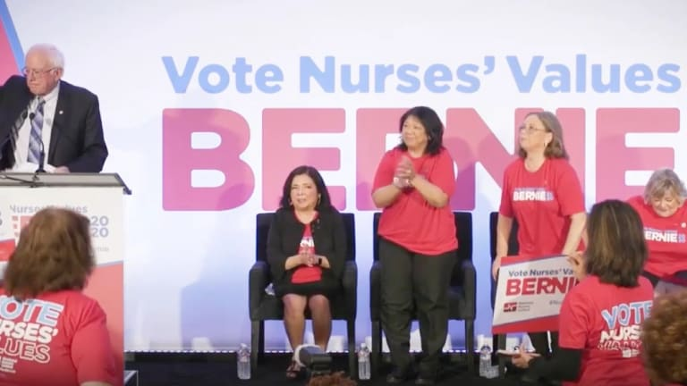 National Nurses Union Endorses Bernie Sanders For President