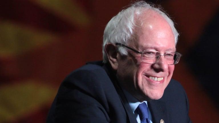 MSNBC Goes Full Batshit Over Sanders' Frontrunner Status